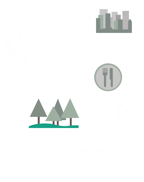 WalkSTC route illustration